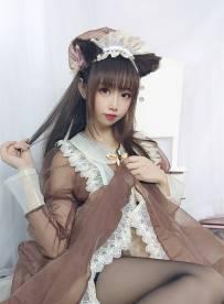 雪琪SAMA - 透明女仆 [43P/4V/234MB]【百度云 永久有效】