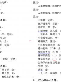 300部全彩无删韩漫终极合集【300部75G】【百度云】